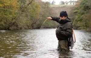 Grayling-fishing